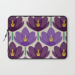 Crocus Flower Laptop Sleeve