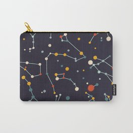 Starry Sky (purple mid century palette)  Carry-All Pouch