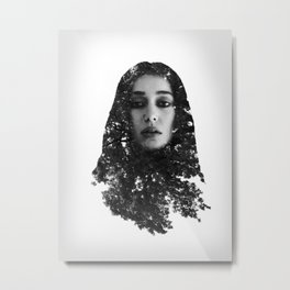Alycia Debnam-Carey Exposure Metal Print