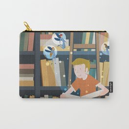 In the magic library Carry-All Pouch