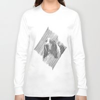 puppies Long Sleeve T-shirts featuring hush puppies by lalip