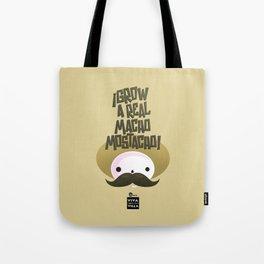 macho mostacho  Tote Bag