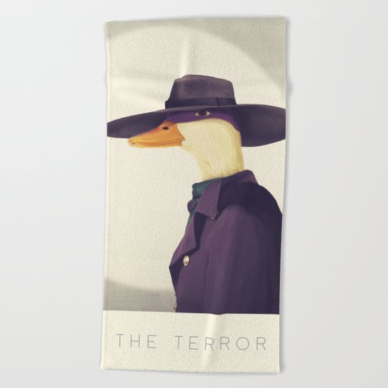 Justice Ducks - The Terror Beach Towel