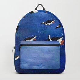 Flock of Penguins Backpack
