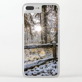 Apley Woods Clear iPhone Case