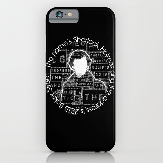 Sherlock BBC: Type iPhone & iPod Case