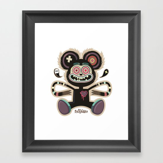Freemouse (without background) Framed Art Print