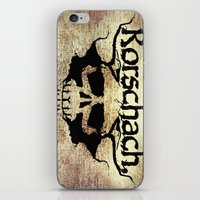 rorschach iPhone & iPod Skins featuring Rorschach by Dominic Mastracchio