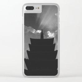 Sensō-ji Clear iPhone Case