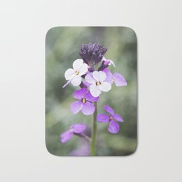 Dame's Rocket from Bud to Bloom Bath Mat