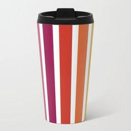 Rainbow Zebra Crossing Travel Mug