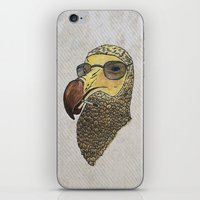 stanley kubrick iPhone & iPod Skins featuring A Tribute To Stanley Kubrick by Brian Atkinson