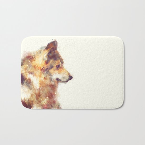 Wolf // True Bath Mat