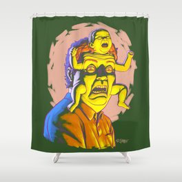 Babyface (Obviously) Shower Curtain