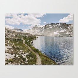 High Sierra Lake Canvas Print