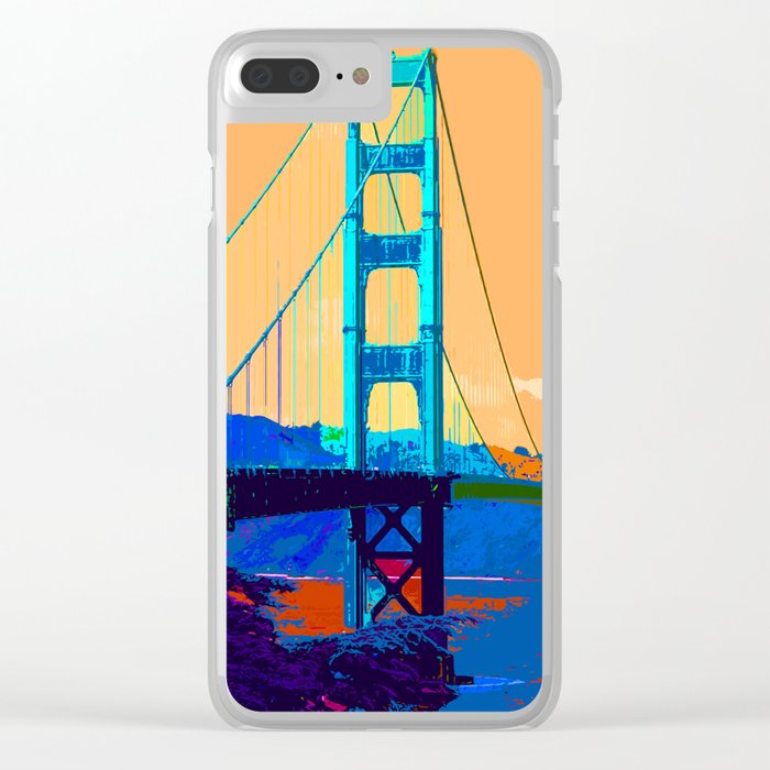 Golden_Gate_Bridge_010 Clear iPhone Case