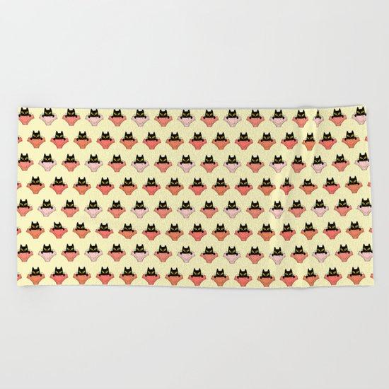 Pussycat Beach Towel
