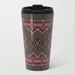 Pink Bannister Metal Travel Mug