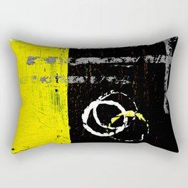 Zips & Fields #2 Rectangular Pillow