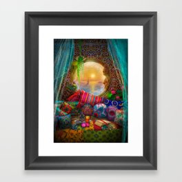 Oasis Framed Art Print