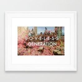 The Roses of the Loveless Framed Art Print