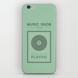Made to be Played — Music Snob Tip #33⅓ A iPhone Skin