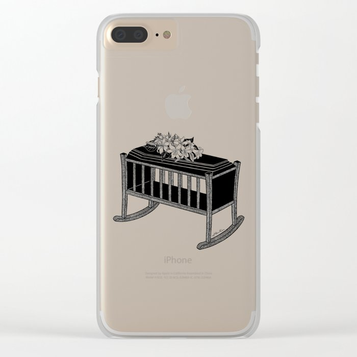 Life is too short Clear iPhone Case