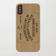 LUIGI BOARD iPhone X Slim Case
