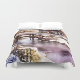 Winter Shelter Duvet Cover