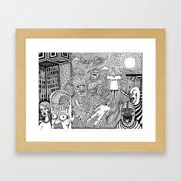 Real World Framed Art Print