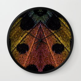 Butterflies Love Geometry Wall Clock