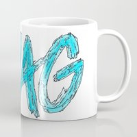 swag Mugs featuring Swag by Creo