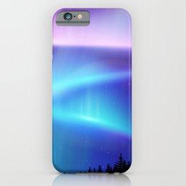 Aurora Synthwave #12 iPhone Case