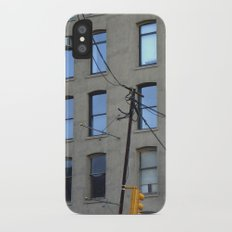 nyc clouds Slim Case iPhone X