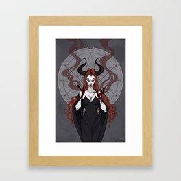 Lilith Framed Art Print