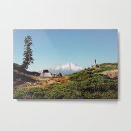 Visions of Mt Shasta Metal Print