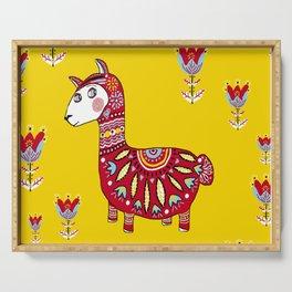 Dala Llama Serving Tray