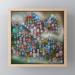 The Times' Art Capsule (News) Framed Mini Art Print
