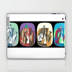Grayskull, smurf, Thunder and Vigilante Falls Laptop & iPad Skin