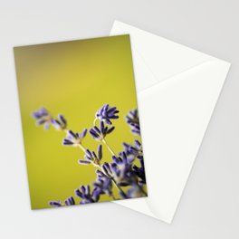 Purple Lavender #1 Stationery Cards