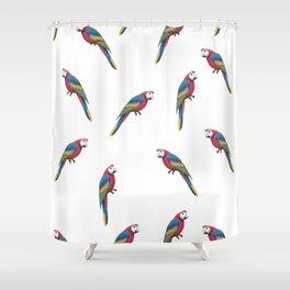 Parrot Pattern Shower Curtain