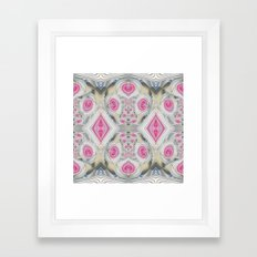 An Abundance of Magical Crystal Candies Framed Art Print