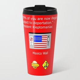 99% of Americans Travel Mug