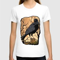 crow T-shirts featuring Crow by Murat Sünger
