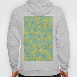 floral pattern Hoody
