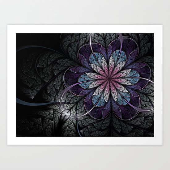 Flower of Melancholy Art Print