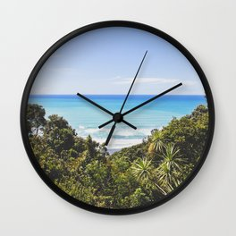 Ohope, New Zealand Wall Clock