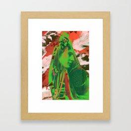 Break Away Framed Art Print