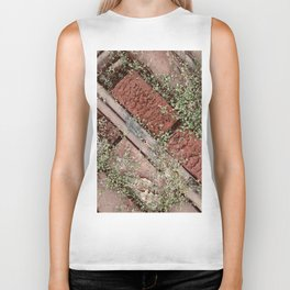 Little Leaves & Red Bricks Biker Tank