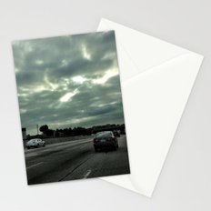 Clouds on the freeway. Stationery Cards